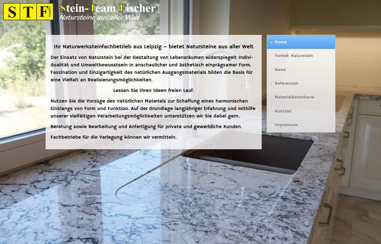 Naturstein für Leipzig - Stein-Team Fischer GmbH