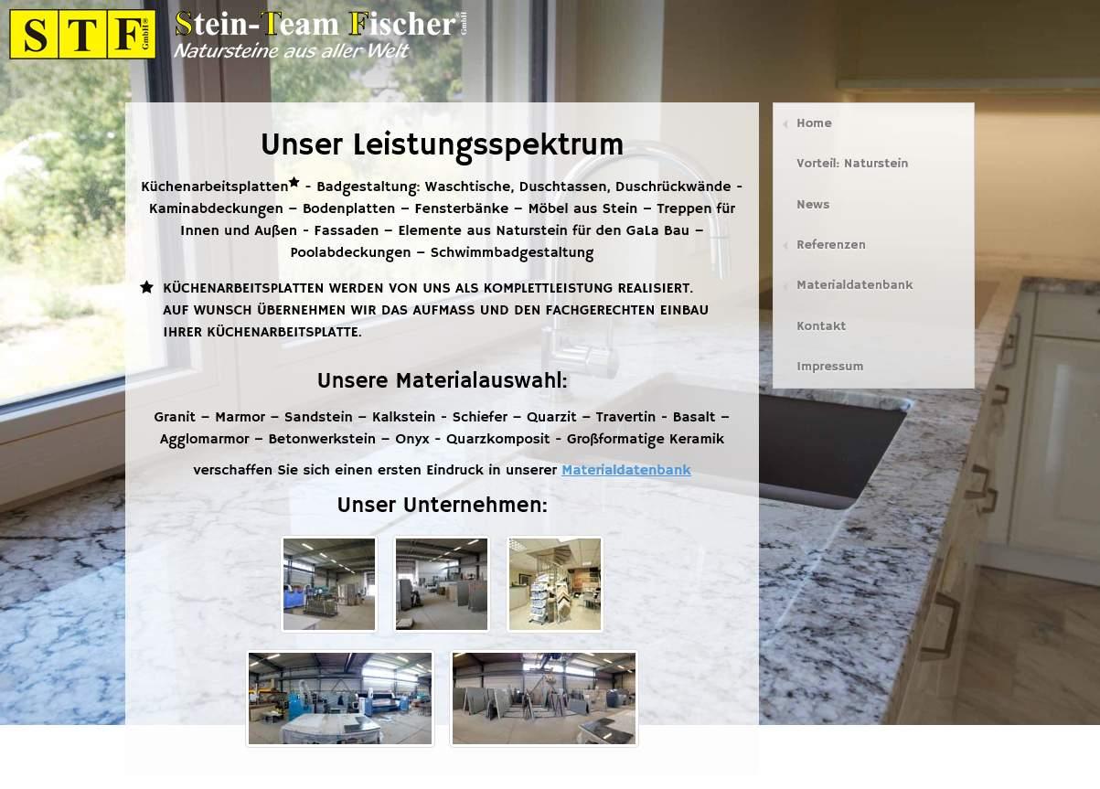 Stein-Team Fischer GmbH - Leistungsspektrum